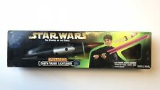 Star Wars Power of the Force DARTH VADER Electronic sabre laser Boxed rouge SFX 96