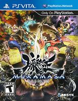 Muramasa Rebirth (Sony PlayStation Vita, 2013) PS VITA