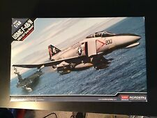 "1/48 Academy F-4B/N Phantom II ""VMFA-531 ""Gray Ghosts"" Kit New In Open Box"