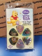 6 Pack Disney Winnie the Pooh Assorted Guitar Picks New Movie Motion Collectible