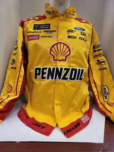 Joey Logano #22 Shell-Pennzoil 2018 Replica Uniform Pit Jacket