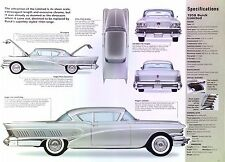 1958 Buick Limited V8 364 ci 300 hp air ride IMP Info/Spec/photo 11x8