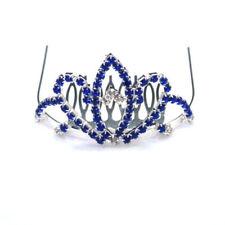 Kronen und Diademe in Blau