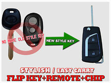 New Flip Key Remote For 2000-2006 Toyota Camry Avalon Kc03