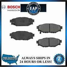 For BRZ Forester Impreza Legacy Outback Bosch Quite Cast Rear Disc Brake Pad NEW
