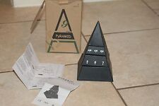 PYRAMID CLOCK - Time Pyramid Desk Clock - 6""