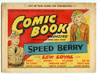 1941 - 1942 Chicago Sunday Tribune Lot of 9 Comic Book Magazines Newspaper BJ227