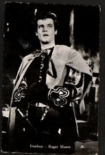 AC2074  MOVIE FILM YOUNG ROGER MOORE AS IVANHOE  RPPC