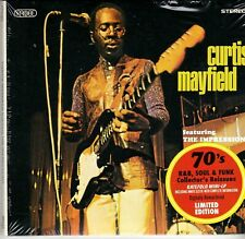 CURTIS MAYFIELD FEATURING THE IMPRESSIONS GATEFOLD SLEEVE LTD EDITION CD