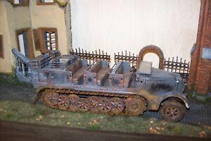 FOV 21st century motorworks german 8ton troop carrier painted weathered decals