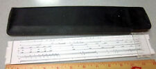 Picket 125 slide Rule, with carrying case, good condition, nice collectible