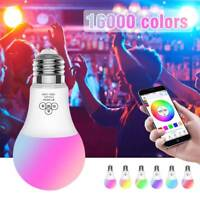 LED Wireless WiFi Bulb Light RGB Smart Music Play Lamp Remote Timing For Alexa