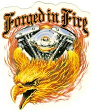 "Decal ""FORGED IN FIRE / SHOVELHEAD""  decal, JA197"