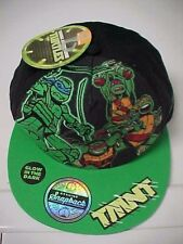 4804c82074c TEENAGE MUTANT NINJA TURTLES Boy s Snapback Glow In Dark Cap Nickelodeon New  Tag