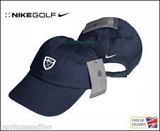 Brand new genuine NIKE GOLF CLUB SWOOSH coton bleu marine casquette de baseball unisexe chapeau