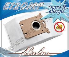 E120MF 5 sacchetti filtro microfibra x Philips Mobilo Plus HR dal modello 8564 a