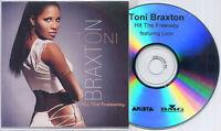 TONI BRAXTON ft LOON Hit The Freeway 2003 UK 3-track promo test CD