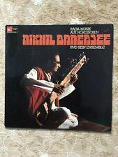 NIKHIL BANERJEE et son ensemble – Raga-Musique de l'Inde du Nord-LP BASF Harm. M.