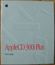 Apple AppleCD 300i Plus User's Guide Z030-6133-A vintage