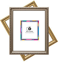 Ornate Shabby Chic Picture Frame Stylish Best Photo Frames Gold&Gun-Metal Colors