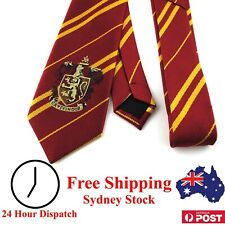 Harry Potter Tie Gryffindor With House Emblem - Kid Dress Up Children Cosplay