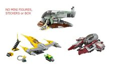 LEGO 6209, 75092, 75135 - Star Wars - 3 Set Lot - NO MINI FIGURES / BOXES