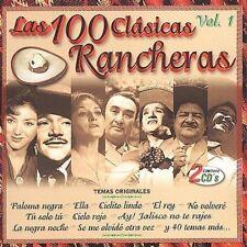 Las 100 Clasicas Rancheras, Vol. 1 by Various Artists (CD, Oct-2001, 2 Discs,...