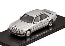 """Mercedes Benz 500E """"Silver"""" 1986 (Spark 1:43 / S1021)"""