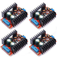 4X 150W DC-DC Boost Converter 10-32V to 12-35V 6A Step Up Power Supply Module US