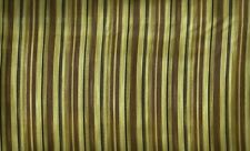 Quilting Treasures ~ Tan Brown Stripe ~ 100% Cotton Quilt Fabric Remnant