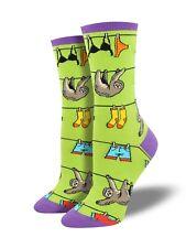 Socksmith Ladies Girls Green Sloth Socks Sloths Christmas Gift Secret Santa New