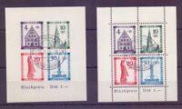Frz. Zone Baden 1949 - Block 1 A + B gestempelt geprüft (561)