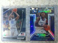2020 Contenders Draft Picks Tyrese Maxey /23 RC Cracked Ice &James Wiseman Prizm