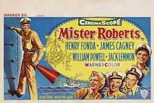 MISTER ROBERTS Movie POSTER 22x28 Half Sheet Henry Fonda James Cagney Jack