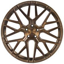 "20"" Rohana RFX10 Brushed Bronze Concave Wheels for Maserati"