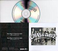 CHAS & DAVE One Fing 'n' Anuvver 2016 UK 2-trk promo test CD