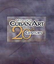 MEMORIA: CUBAN ART OF THE 20TH CENTURY (WITH A CD-ROM). 474 Listed Cuban Artist.