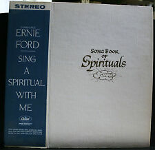 VINYL RECORD ALBUM SONG BOOK OF SPIRITUALS TENNESSEE ERNIE FORD WORDS NOTES
