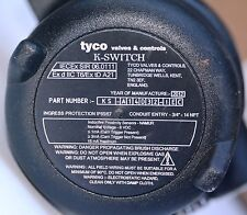 TYCO Keystone K switch valve limiter and proximity switches IEC explosion proof