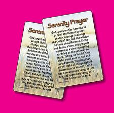 """Serenity Prayer"" Poem (Long Version)  - 2 Verse Cards - SKU# 799"