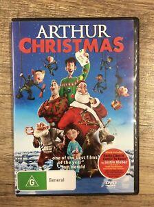 Arthur Christmas - Region 4 DVD - Good Condition - FREE POST