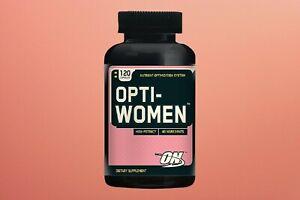 Optimum Nutrition - Opti-Women Women's Multiple - 120 Capsules Exp 03/2022