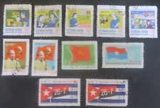 1970 s VIETNAM MIXED COLLECTION USED.