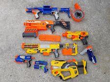 lot 8 Nerf blaster guns Raider Demolisher Barricade Recon FireFly Switch Shot