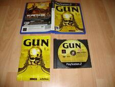 GUN DE ACTIVISION PARA LA SONY PLAY STATION 2 PS2 USADO COMPLETO