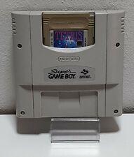SNES-Super Gameboy adaptador snsp - 027 con Gameboy Tetris b1162