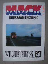 MACK  F 700 Serie  brochure / Prospekt  ca.1970.