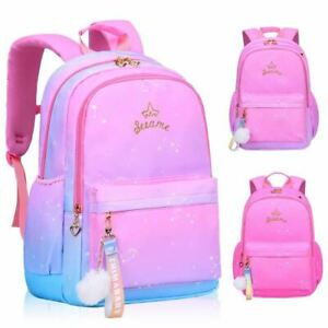 1 Pc Children Girls Kids Satchel Primary school backpack princess Orthopedic Bac
