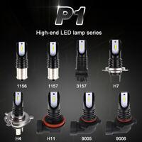 2x H4 H7 H11 9005 9006 CSP LED Birnen Scheinwerfer Nebelscheinwerfer Fog Lampe