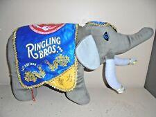Ringling Bros. Barnum & Bailey Circus 142nd Edition Plush Elephant Souvenir Toy